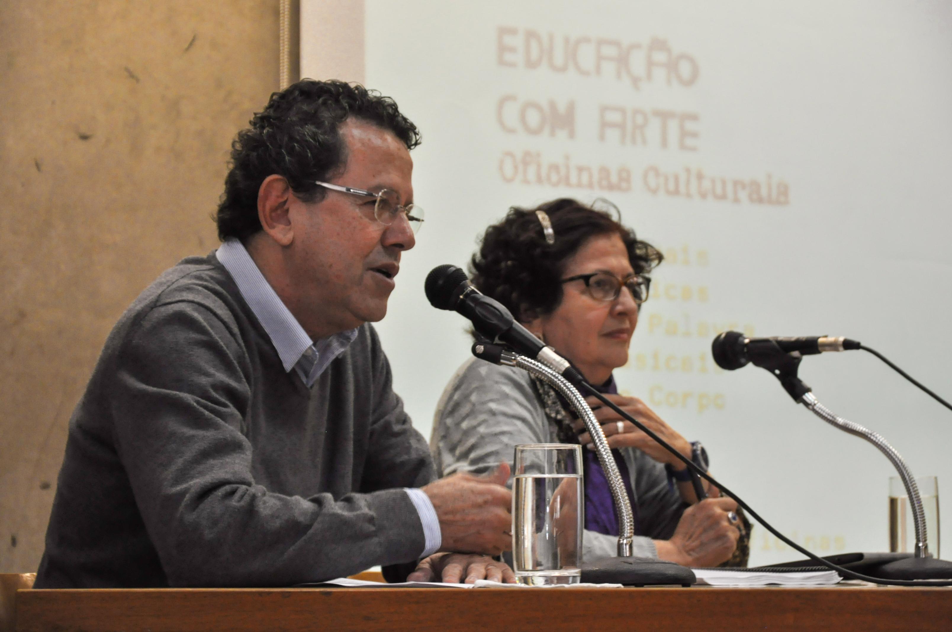 Wagner Santos e Rosa Iavelberg (Foto: Fabio Umbelino)